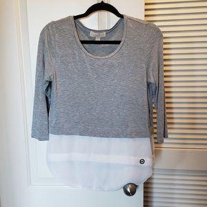 Michael Kors Grey Top